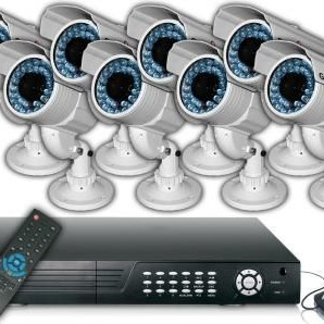 SpyCameraCCTV-8-Camera-CCTV-Security-System-50M-Infrared-420TVL-DVR-1TB-H-264-LAN